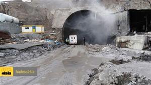 یک کشته در ریزش تونل معدن ذغال سنگ هجدک راور