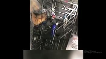 سقوط مرگبار کارگر از دیوار ساختمانی در آران و بیدگل