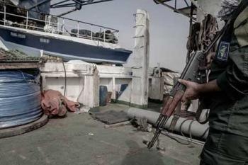 توقیف ۴ شناور صید ترال در خلیج فارس