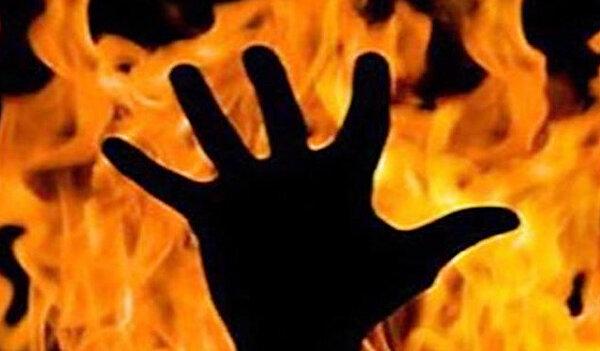 ویدئو | صحنه آتش زدن یک مرد در خانهاش