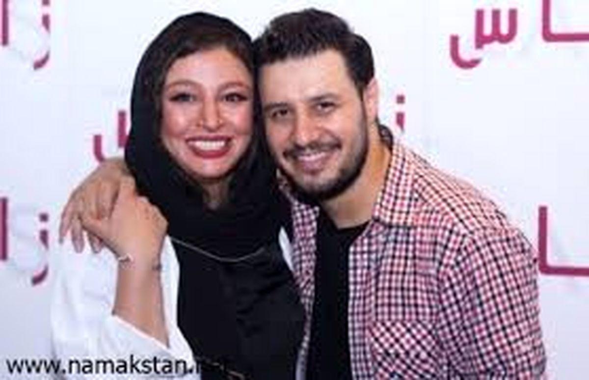 عاشقانه های دیده نشده جواد عزتی و همسرش + عکس