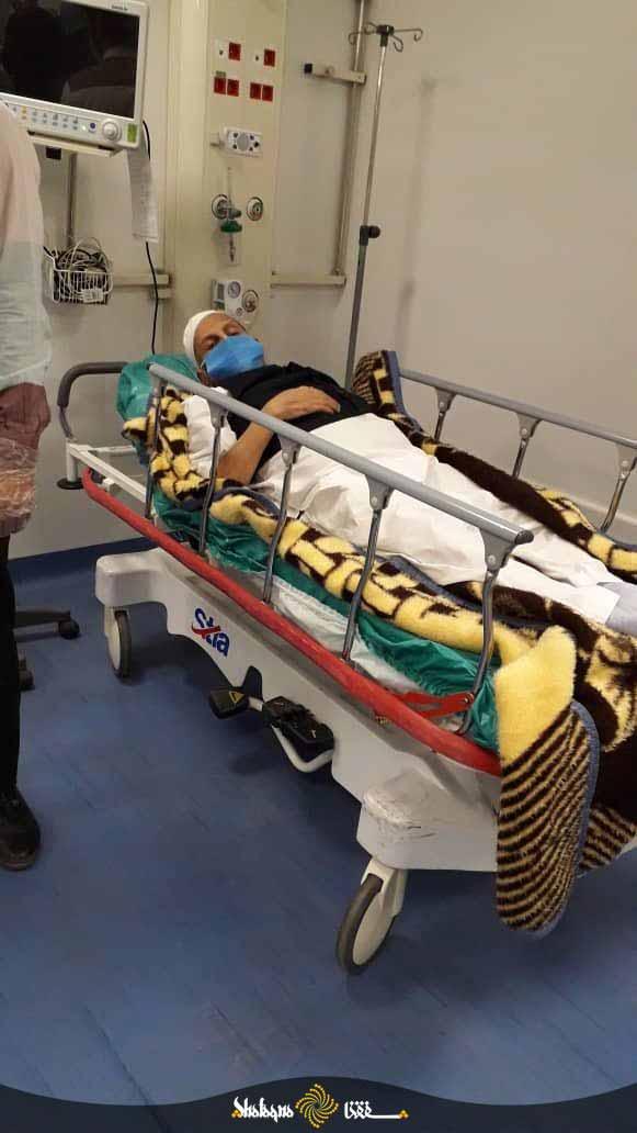 عکس/ مرحوم آیت الله صانعی در بیمارستان