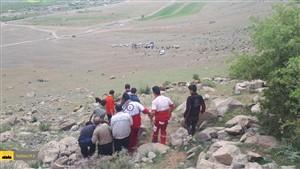 سقوط مرگبار از کوه هنگام چیدن بنه کوهی