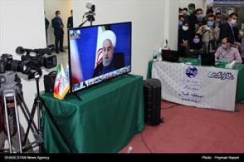 گزارش تصویری/ افتتاح بیمارستان ۲۳۱ تختخوابی شهید نورانی تالش