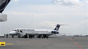 نقص فنی هواپیمای تهران- گرگان را در فرودگاه ساری به زمین نشاند