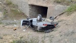 سقوط پژو به دره سولقان مرگ راننده را رقم زد