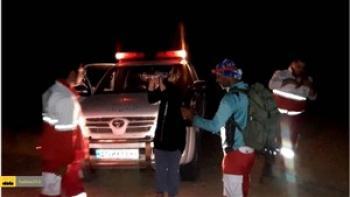 زن گمشده در ارتفاعات بجنورد پیدا شد