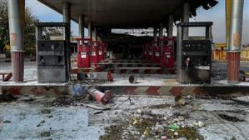 آتش سوزی در پمپبنزین 5 نفر را راهی بیمارستان کرد