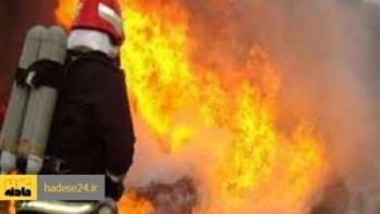 سه فوتی در آتش سوزی پمپ بنزین تاکستان تاکنون