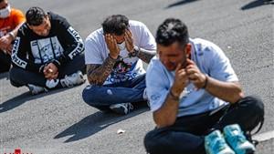 پلیس 937 سارق و مجرم را در پایتخت زمین گیر کرد