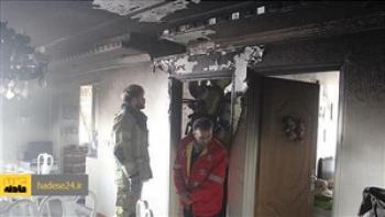 زنده زنده سوختن پسر نوجوان در آتش سوزی خانه