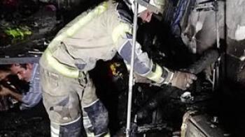 مرگ کودک 10 ساله در آتش سوزی خانه ویلایی