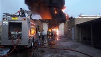 انفجار در شهرک صنعتی شهرضا