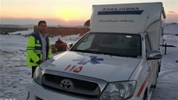 مرگ میلاد ایران نژاد تکنسین اورژانس در حین امدادرسانی