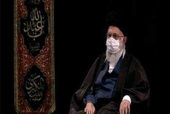 بغض رهبر انقلاب هنگام ذکر نام سردار شهید سلیمانی +عکس