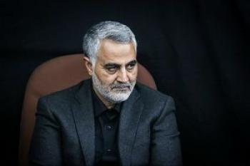 قاسم سلیمانی وزیر خارجه دوم ایران است +عکس