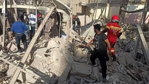 تعداد کشتههای انفجار گاز در اهواز تاکنون 4 نفر