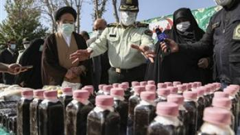 ۱۲۶۳ خرده فروش در پایتخت دستگیر شدند