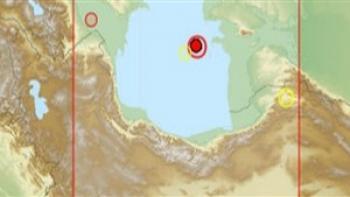 زلزله ۴.۵ ریشتری در دریای خزر
