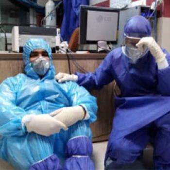 ابتلای ۲۲۰ نفر از پرسنل یک بیمارستان در تهران به کرونا
