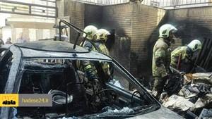 انفجار کپسول CNG خودرو 4 نفر را راهی بیمارستان کرد