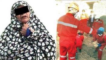 اعترافات  زن مشهدی به قتل هوو و پسر خردسالش در چاه
