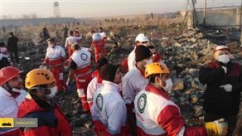 خبرهای تازه از سقوط هواپیمای اوکراینی