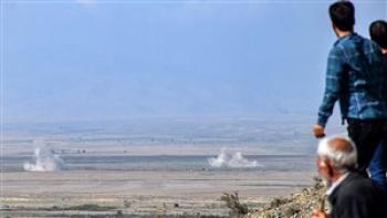امروز 71 گلوله جنگی به روستاهای خداآفرین اصابت کرد