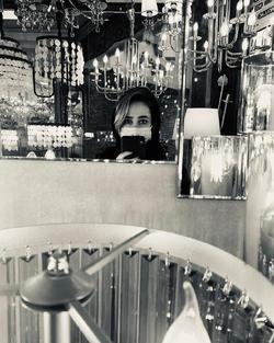 ماسک زدن به سبک «الناز حبیبی» + عکس