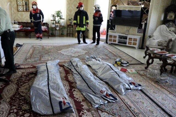 مرگ مشکوک اعضای یک خانواده در مشهد