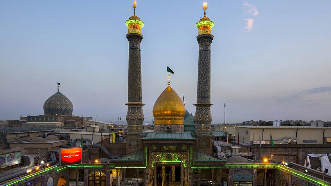 ساعت بازگشایی دربهای حرم حضرت عبدالعظیم (ع) تغییر کرد