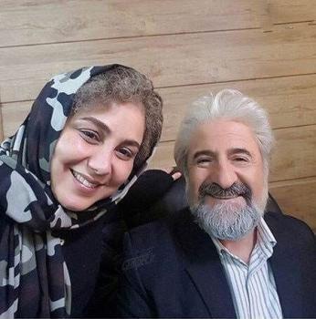 سلفی قدیمی بهنوش بختیاری و مهران رجبی + عکس