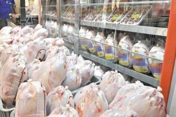 توزیع مرغ به نرخ دولتی در میادین میوه و تره بار