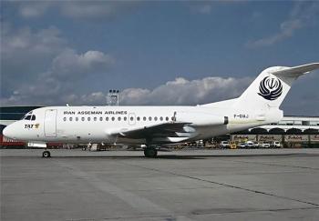 دلیل آتشسوزی موتور هواپیمای فوکر آسمان اعلام شد