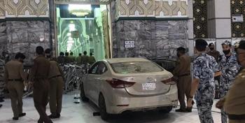 اولین حادثه در مسجدالحرام؛ ۲۶ روز پس از بازگشایی +فیلم و عکس