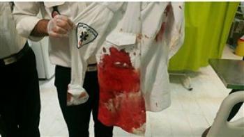 حمله افراد ناشناس به تکنسین اورژانس ۱۱۵ بم