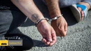 عامل جنایت در طلافروشی خیابان حجتی تبریز دستگیر شد