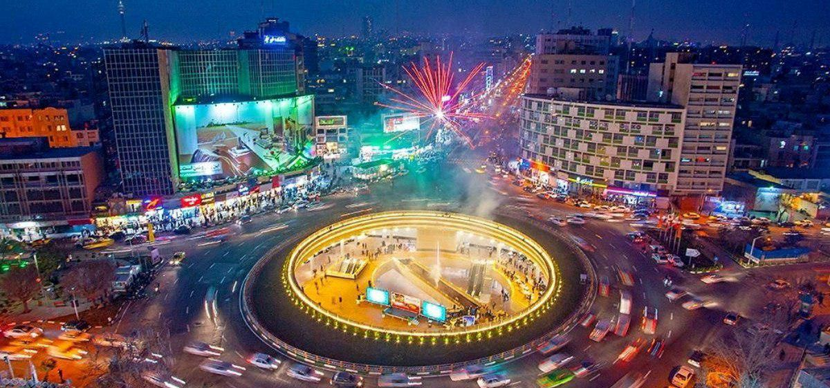 از دیوارنگاره جدید میدان ولیعصر (عج) رونمایی شد/ عکس