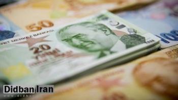 ارزش لیر ترکیه نسبت به دلار باز هم کاهش یافت