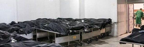 """""""تصویری دلخراش از اجساد قربانیان کرونا در بهشت زهرا"""""""