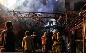 اعلام مقصران آتش سوزی کلینیک سینا اطهر