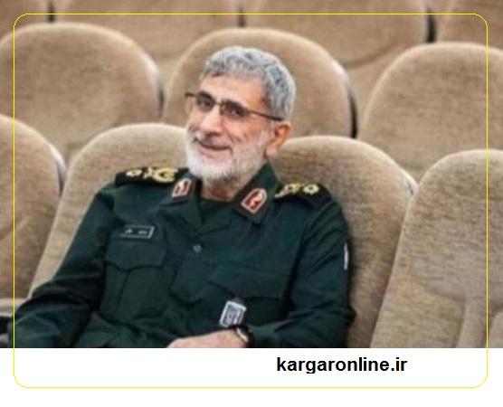 عکس /خنده مومنانه جانشین خلف حاج قاسم