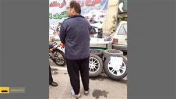 سرقت موبایل با لباس نظامی در کرج