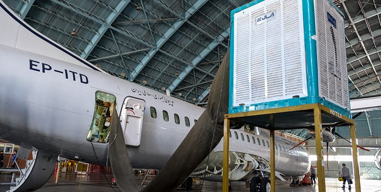 جزئیات آتش گرفتن بنزین در موتور هواپیمای ایلام/ استارت مجدد موجب احتراق شد