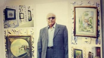 فوت هنرمند نقاش بر اثر کرونا