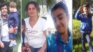 بازگشت اجساد خانواده ایران نژاد به وطن / آرتین 15 ماهه در مانش جا ماند
