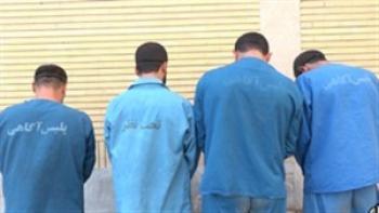 اعضای باند مخوف آدم ربایی در زاهدان دستگیر شدند