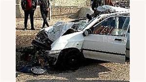مرگ مرد جوان در تصادف با کامیون