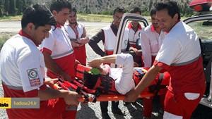 آخرین خبر از مصدومان حادثه برخورد دو قطار در قزوین