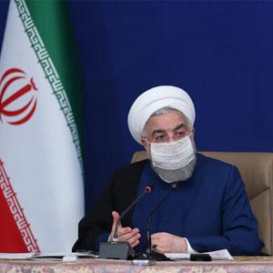 """""""روحانی: پیشنهاد تردد افراد با کارت ملی و کارت شناسایی معتبر"""""""